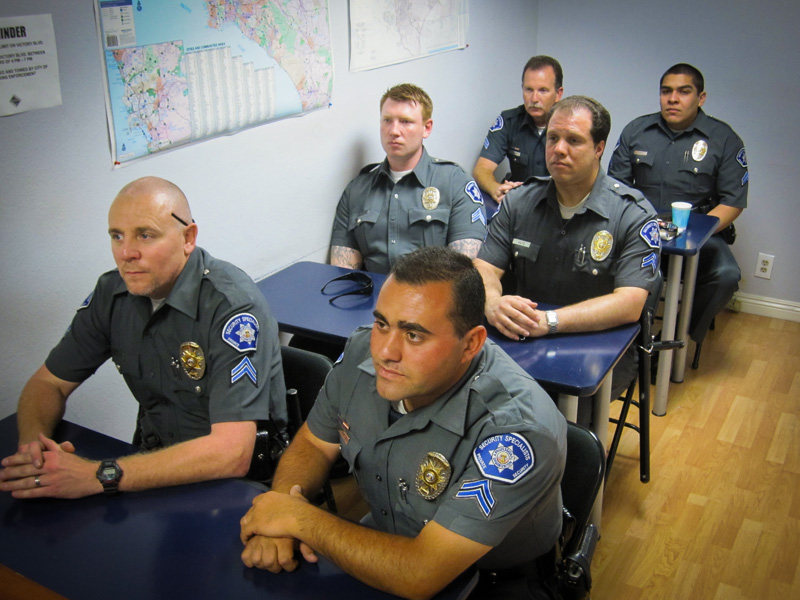Security specialists about our officer training - Security officer training online ...